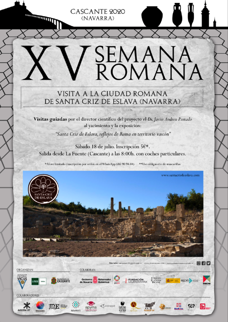 Visita ciudad romana Santa Criz de Eslava